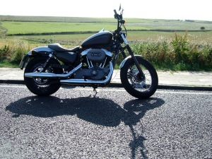 The Harley I rode from John o'Groats to Land's End