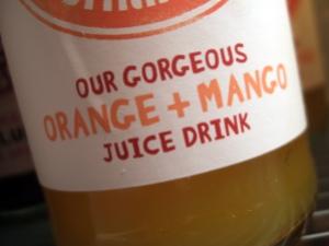 Orange and Mango Juice Drink