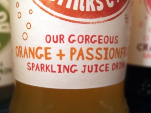 Orange and Passionfruit Sparkling Juice Drink