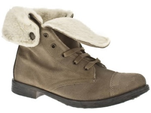 Schuh Corporal Fleece Lace Boots
