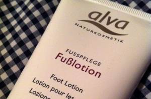 Alva Foot Lotion