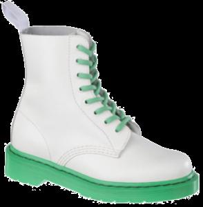Pascal 8-eye Boot - White Smooth