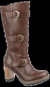 Diva Bellissa 3 Strap Calf Boot - Tan Polished Laredo
