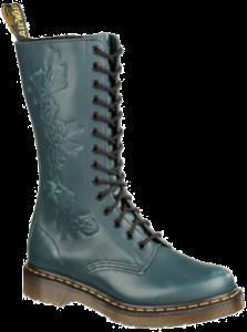 Applique Norah Flower Deboss Boot - Teal Vintage