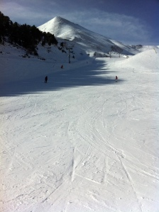 15/02/11: Loving being on the snow covered mountains in Arinsal