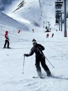 Look at me ski!