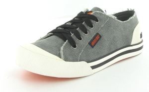 JAZZIN washed canvas black