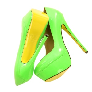 Kandee Shoes - Lime Sours