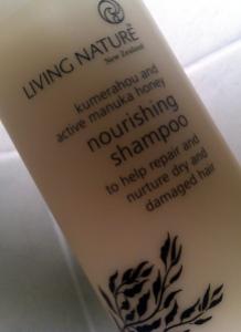 Living Nature Nourishing Shampoo