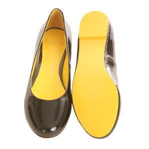 Kandee Shoes - Yellow Liquorice Allsoles