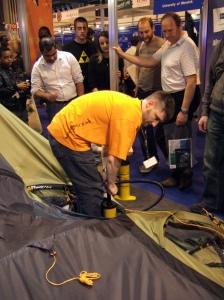 Gadget Show Live - Vango Tents
