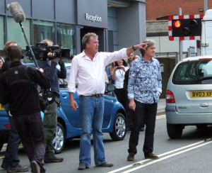 Top Gear in Lincoln - Level Crossing