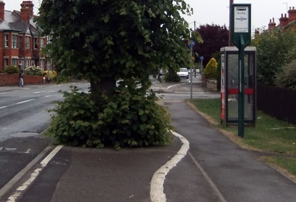 Cycle Path in Sleaford