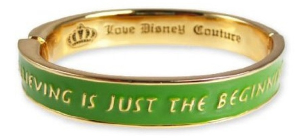 Disney Couture Green Bangle