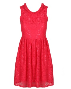 Cherry Vimto Prom Dress Cut Out