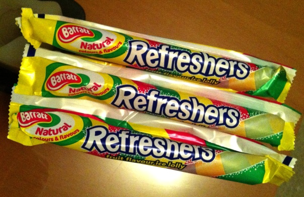 Refreshers Ice Lollies