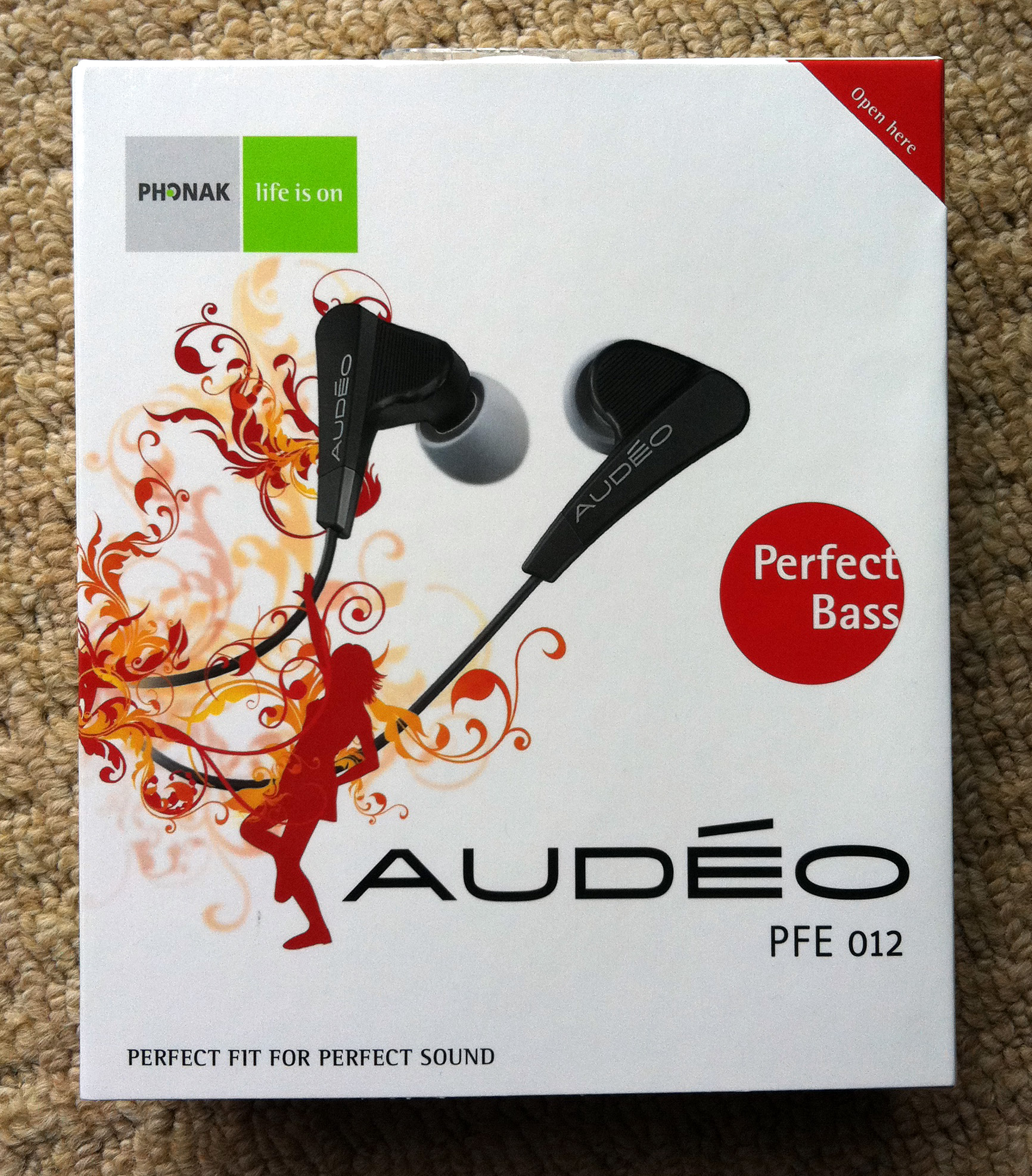 Phonak Audeo Perfect Bass Earphones