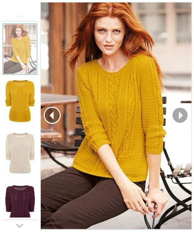Next Cable Knit Jumper