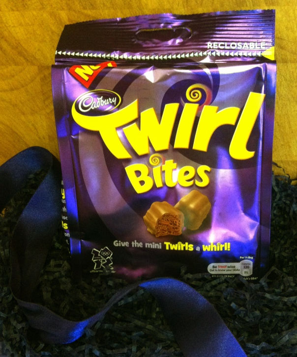 New Cadbury Twirl Bites