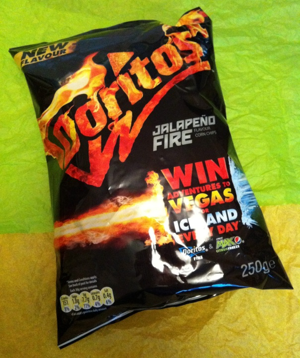 Doritos Jalapeno Fire Tortilla Chips