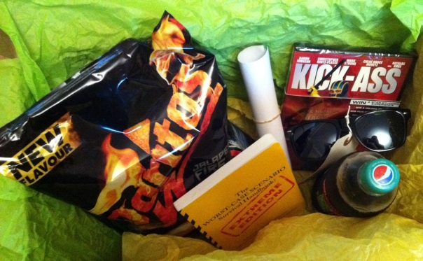 Doritos Max Superhero Survival Kit