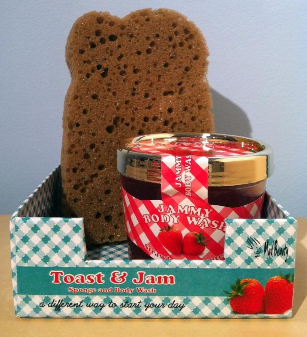 Mad Beauty Toast and Jam Bodywash and Sponge