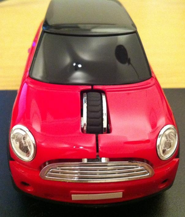 Motor Mouse Mini Cooper