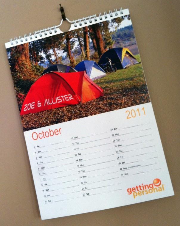 We *must* live here - it's our calendar!