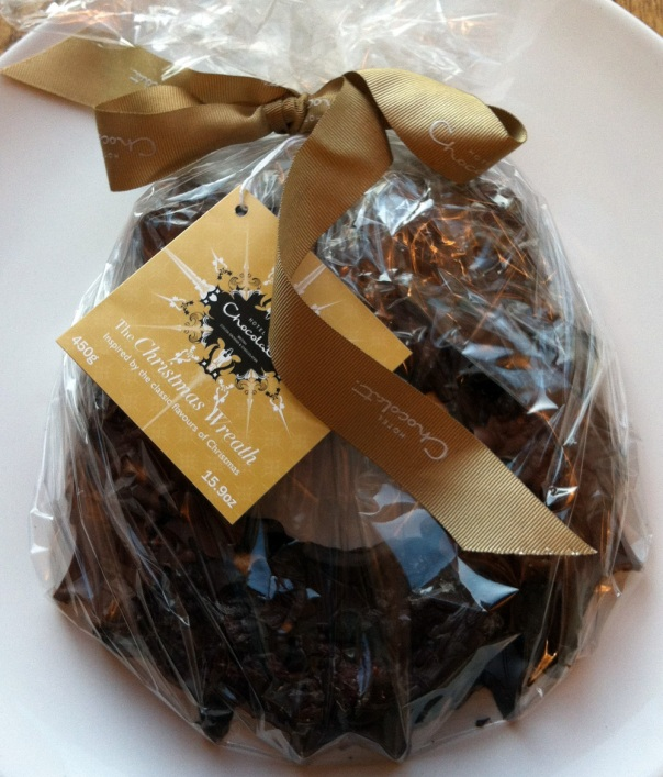 The Christmas Wreath by Hotel Chocolat