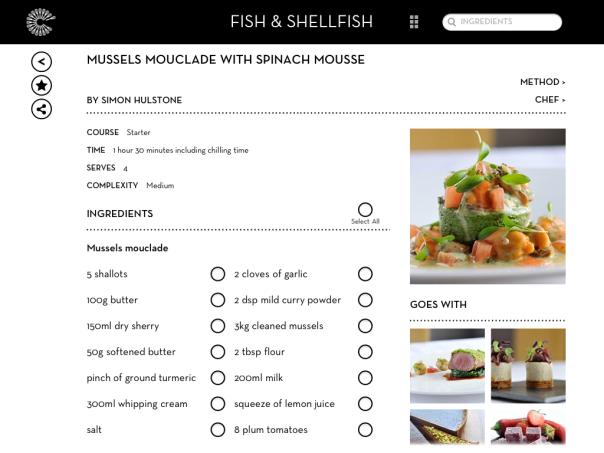 Great British Chefs iPad App