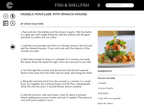 Great British Chefs iPad App