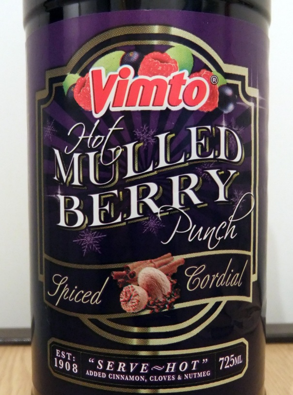 Vimto Hot Mulled Berry Punch