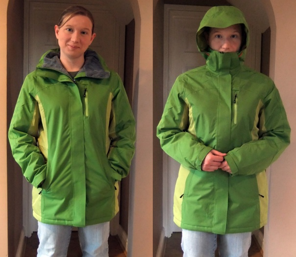 Land's End Snow Squall Parka