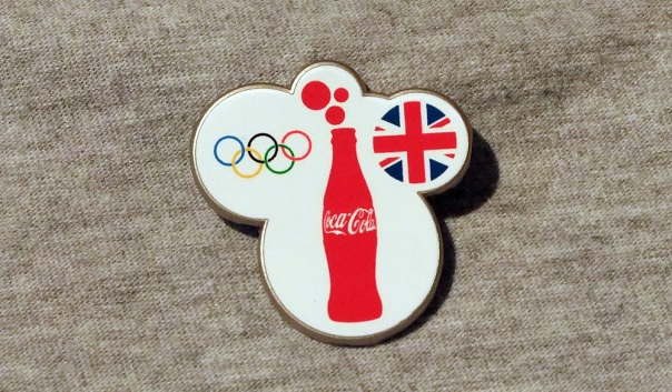 London 2012 Olympic Torchbearer Badge
