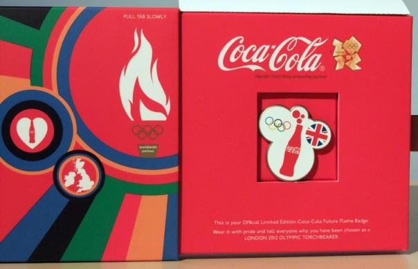 London 2012 Olympic Torchbearer