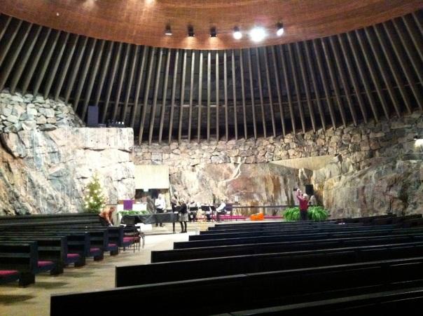 Helsinki - The Rock Church (Temppeliaukion Kirkko)