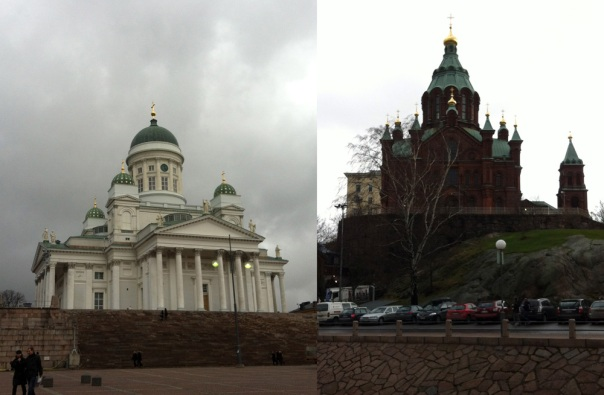 Helsinki - Two Cathedrals