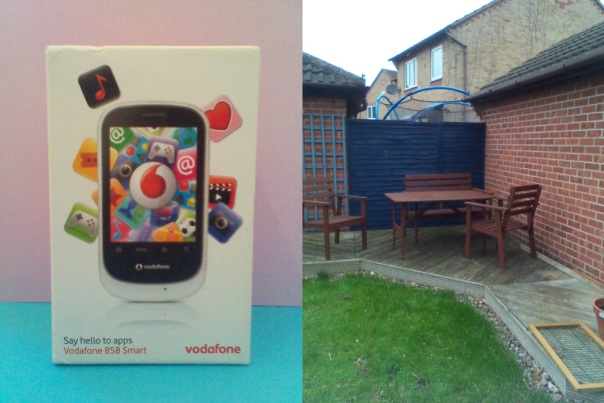 Vodafone 858 Smart - Camera