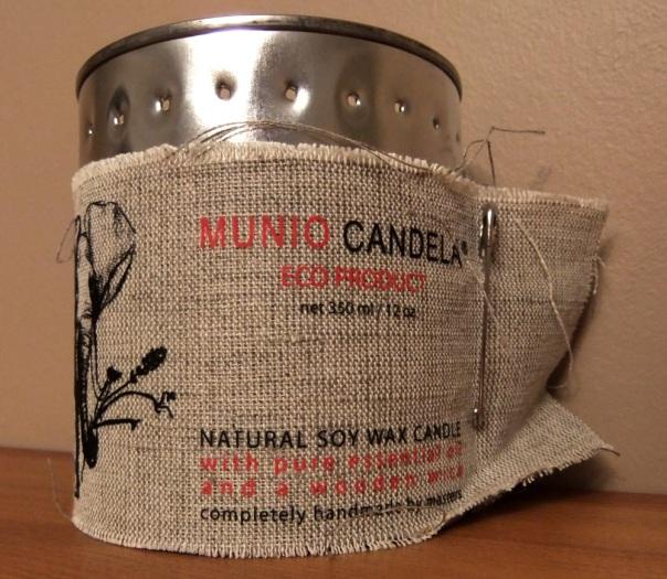 Munio Candela Soy Wax Candle