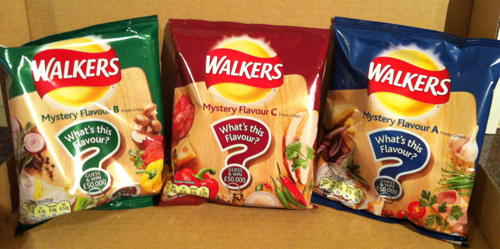 Walkers What's That Flavour