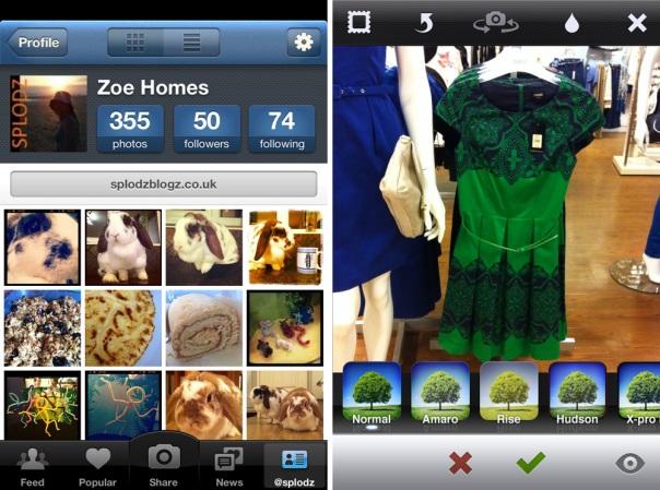 Instagram Screen Shots