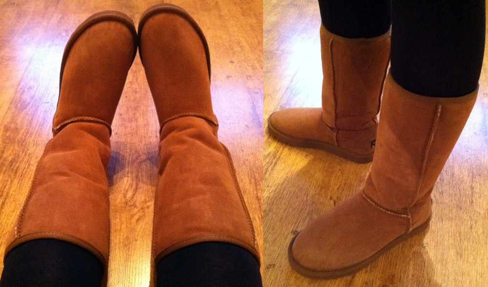 Whooga Ugg Boots - As Worn