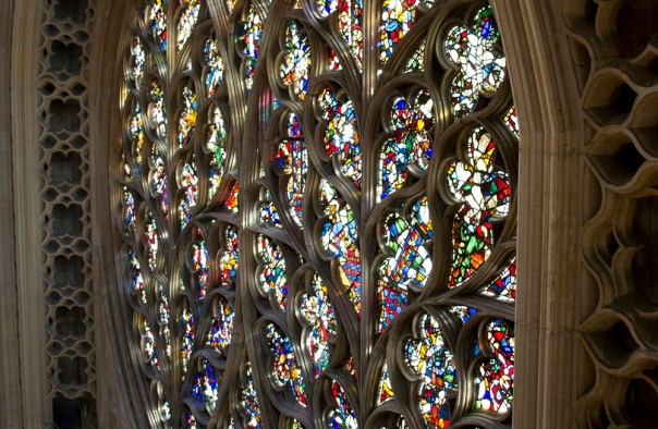 Lincoln Cathedral Bishop Eye Round Window