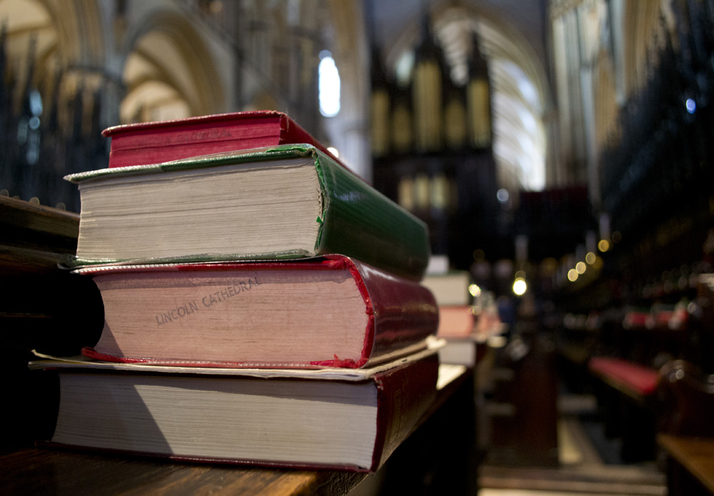 Lincoln Cathedral Choir Books