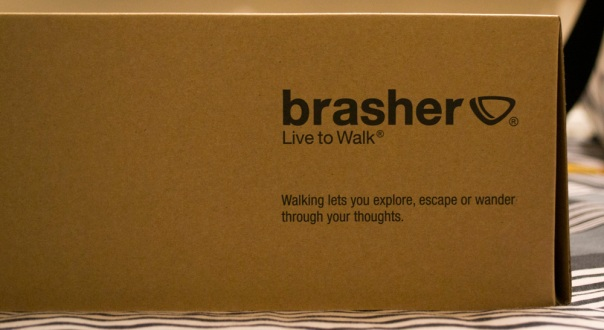 Brasher Shoe Box